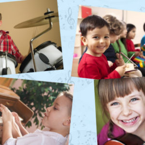 Como enseñar música a los niños : las edades, los instrumentos y el método.