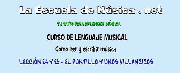 QUE ES EL PUNTILLO MUSICAL